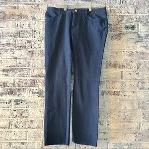 Chaps navy jean/pants